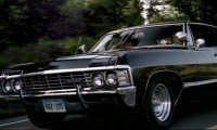 Enjoy A Long Or Short Ride With The Winchesters In The Impala