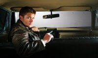 Driving in the rain with sam and dean